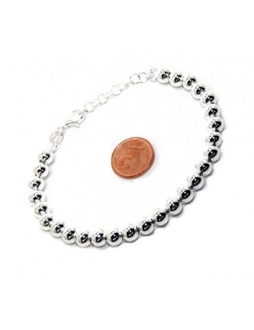 bracciale beads con moneta