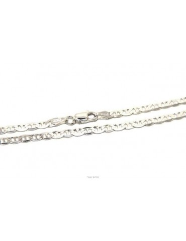 SILVER 925: Necklace or bracelet man marine chain 3 mm solid light