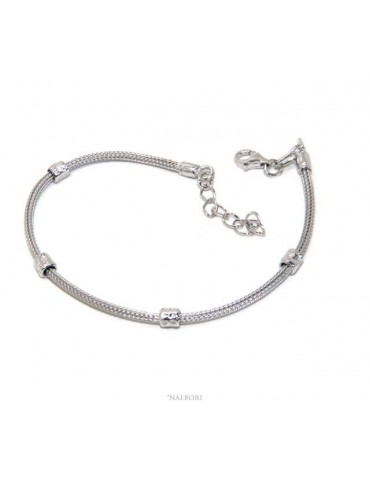 NALBORI fox tail bracelet,...