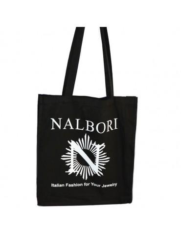 Shopper NALBORI puro cotone con soffietto