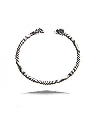 Cable bracciale argento 925 con ariete - N1405 NALBORI