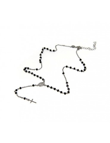 Rosary necklace man 925...