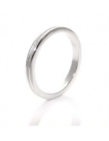 Silver 925 Ring faith record with line amid great extent 23